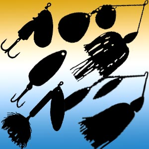 Spinnerbaits, In-Line Spinners, Spoons